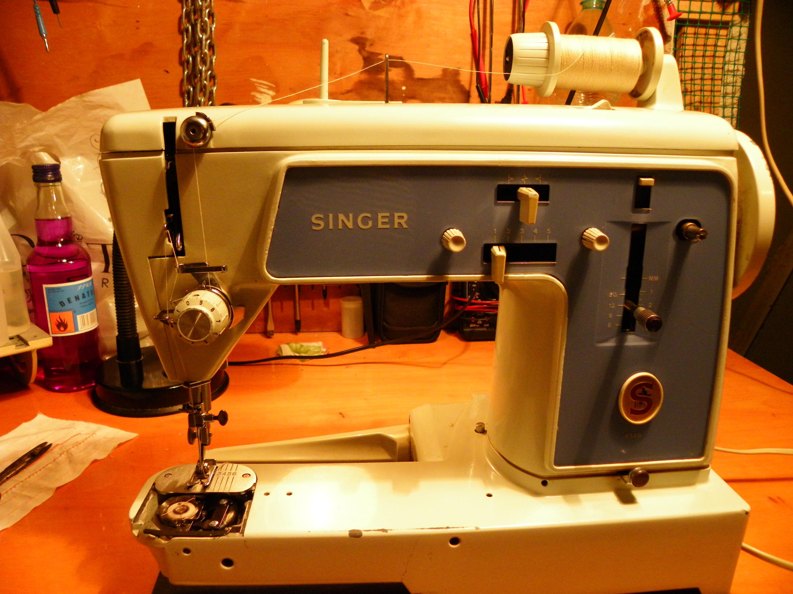 Singer 632g Brak instrukcji obs�ugi.