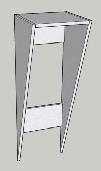 Garaż z profili stalowych i płyt warstwowych - obliczenia.