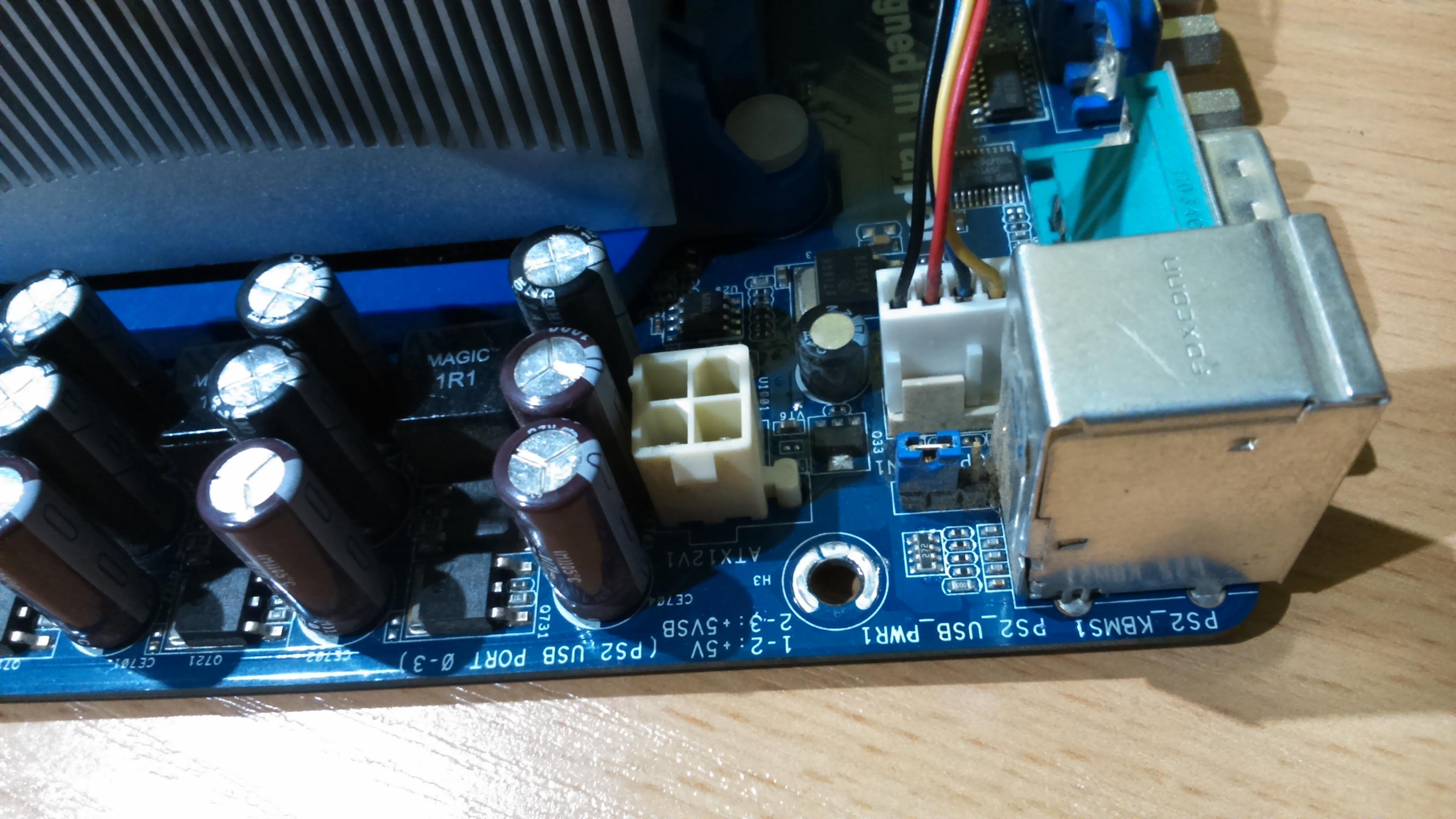 Asrock n68c-s ucc - p�yta nie odpala jak pod��czam ATX12V -4 �y�owy od zasilacza