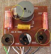 Canton GLX100 - uszkodzone zwrotnice?