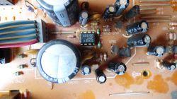Technics SE-A909S - Nie działa wł/wył podświetlenia wskaźników