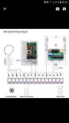 Alarm GSM emasstif g2b podłączenie czujki
