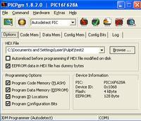 PIC16F628A - wyświetlacz 7 segmentowy zapala złe fragmenty