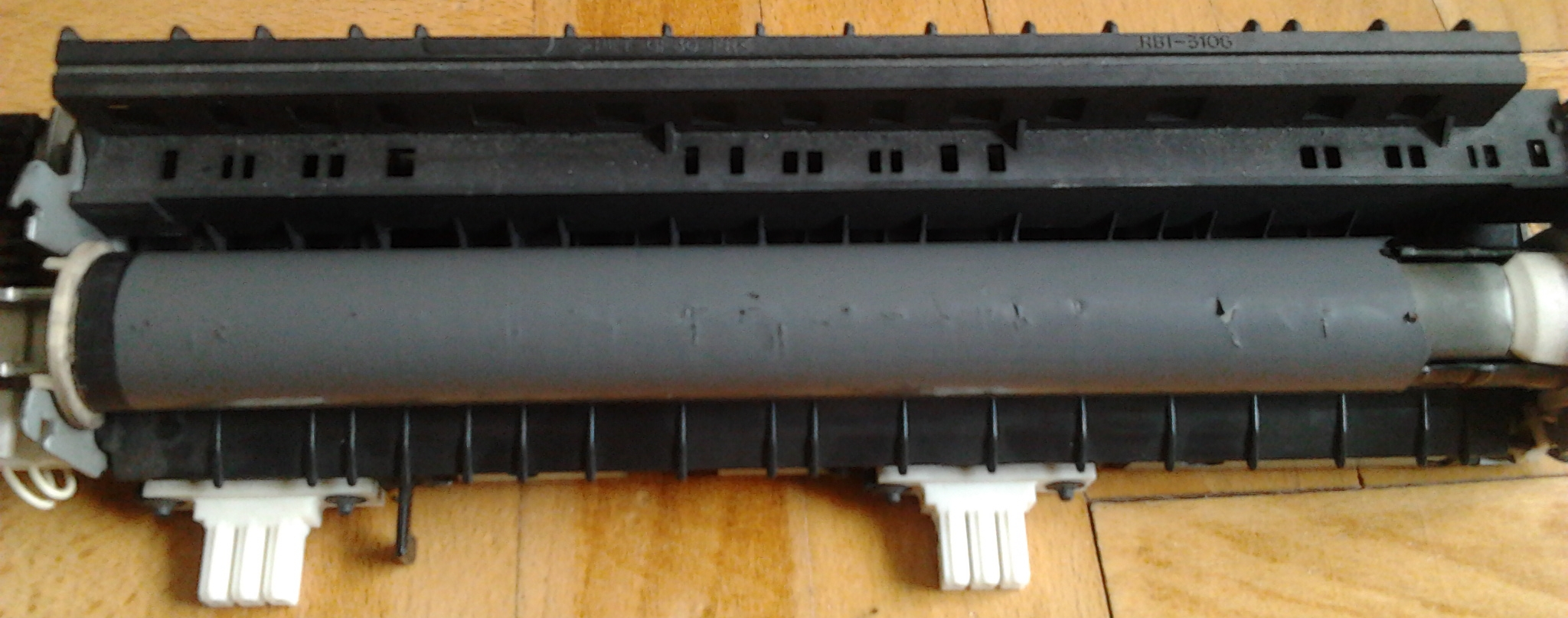 HP 6P - pionowe paski na wydrukach