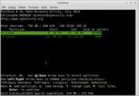 Odzyskanie zaszyfrowanego dysku Linux Mint