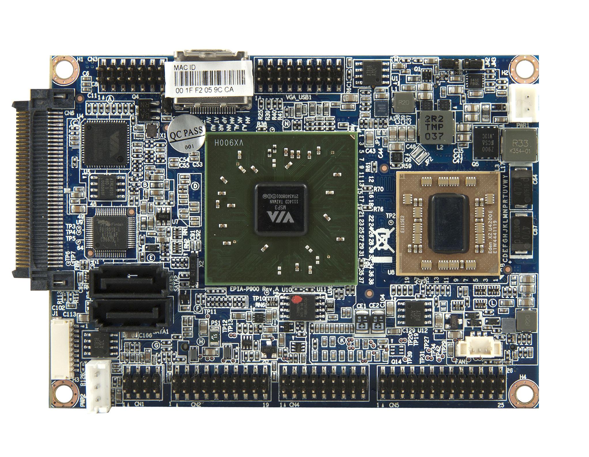 VIA EPIA P900 - pierwsza p�yta g��wna Pico-ITX z dwurdzeniowym Eden X2