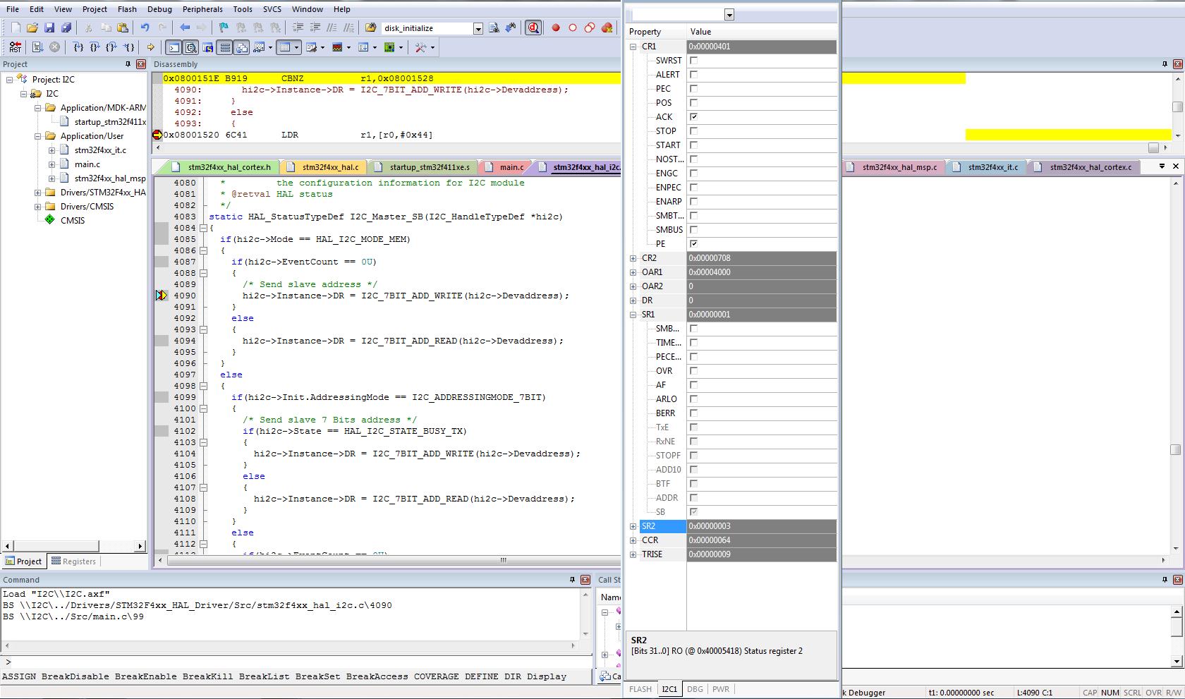 Stm32 I2c Hal Example