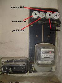 Częściowa modernizacja starej instalacji