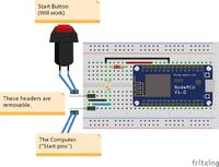 Zdalna kontrola komputera przez ESP8266