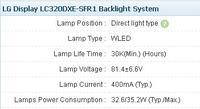 LG 39LN5400 - Brak podświetlenia, reszta OK.