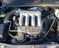 Volkswagen Golf III GTI 16v silnik ABF