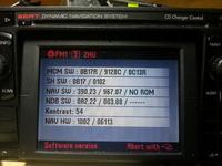 Seat MFD 1 - Prośba o sprawdzenie wersji - D czy G ?