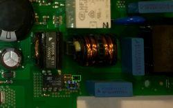 Zmywarka Bosch SPV43M10EU - moduł 9000 683 387 - identyfikacja elementów