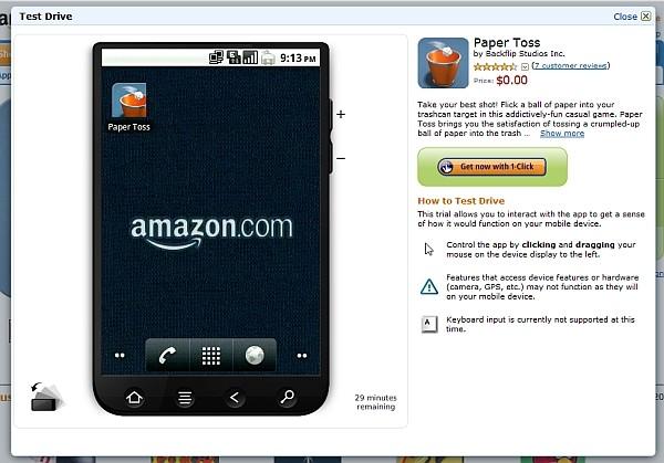 Wirtualny telefon i emulator Android w sklepie Amazon