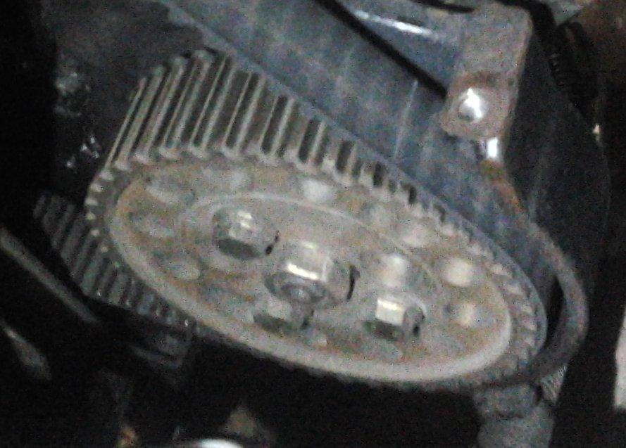Citroen Saxo - uszczelka pokrywy pompy wtryskowej Bosch