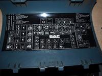 DAF XF 95 Pali bezpiecznik nr 28
