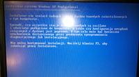 IBM - Czarny Monitor / Nie mozna wykryc zadnego dysku