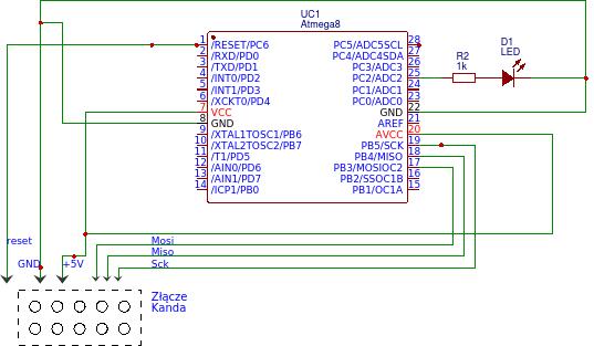 [Atmega8] [C] - Błąd w programie/układzie czy stykach?