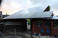 Magazyn energii pozyskiwanej z ogniw słonecznych