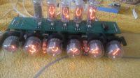Stacja Pogody na lampach Nixie, zegar, bluetooth