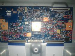 Sony KDL-55W805C - Mleko na ekranie