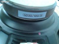 Głośnik estradowy GD30/100/8 Tonsil-różnica między GD30/50/8