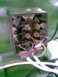 Silnik 3 fazowy z mechaniczną regulacją obrotów - grzeje się