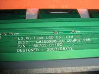 uszkodzona matryca LM150X08-A4
