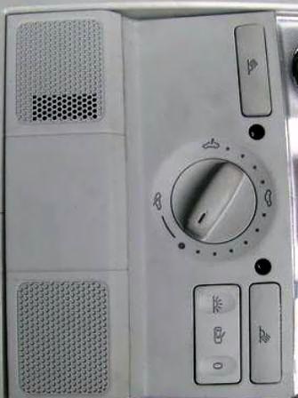 VW Golf V przyciski lampki oświetlenia wewnętrzego
