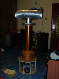 DRSSTC -Dual Resonant Solid State Tesla Coil