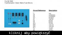 Uszkodzony zasilacz MLT-666-AH w LCD HD Polaroid FLM-323B