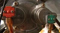Junkers WRP 250-5 KB Zielony przewód a płomień świeczki