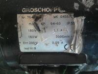 Regulator obrotów silnika prądu stałego (polerka)