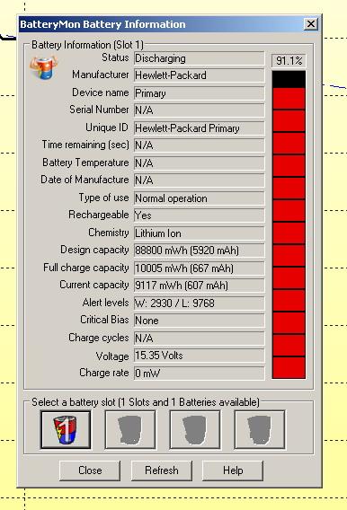 Laptop HP nx9110 bateria trzyma 14minut
