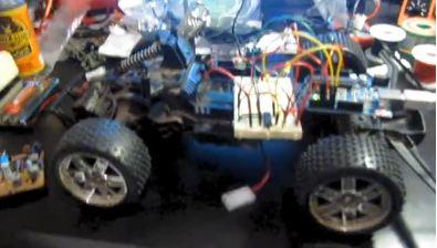 Creeper Bot - zdalnie sterowany robot z kamerą