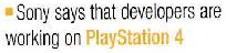 Trwają prace nad grami na Sony Playstation 4