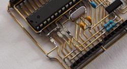 """""""Przezroczysta"""" płytka Arduino UNO"""