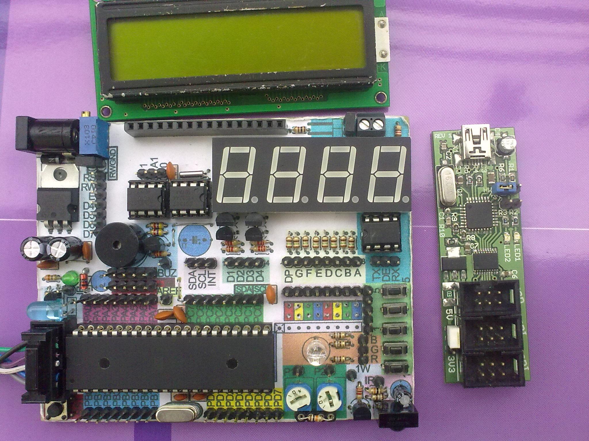 P�ytka prototypowa Miszczo test board.