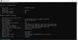 Karta sieciowa Ethernet nie ma poprawnej konfiguracji IP.