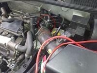 Audi A3 1.8T 2001r czujnik temp. pow. - gdzie?