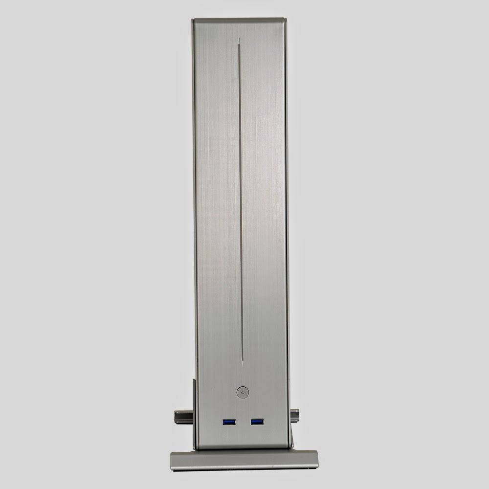 Lian-Li PC-Q19 - nietypowa, stoj�ca, aluminiowa obudowa Mini-ITX