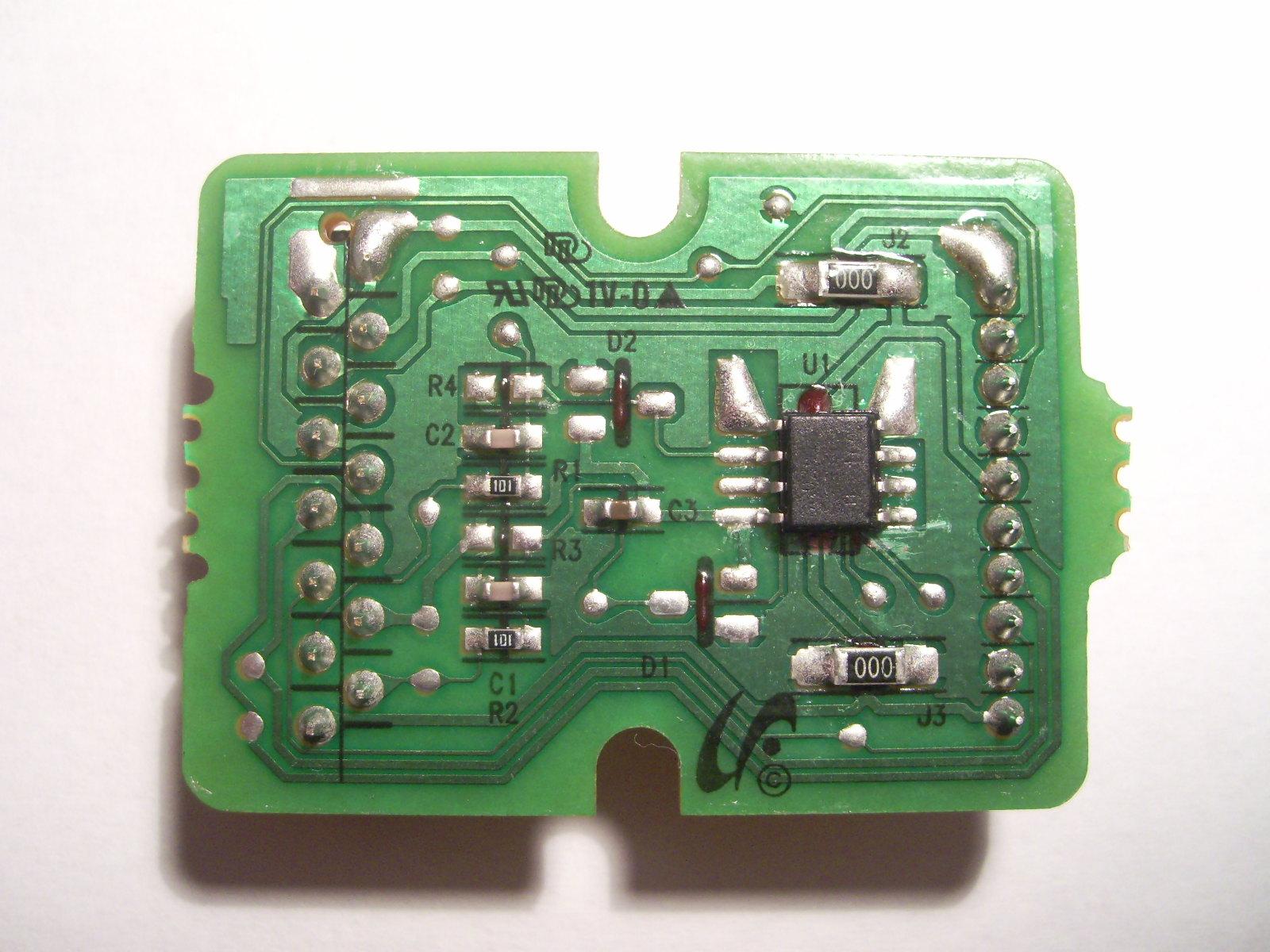 Odczyt wsadu z pasa transferowego CLT-T609 - drukarka SAMSUNG CLP-770ND