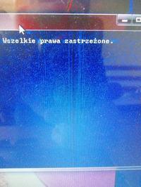 HP Pavillon dv7-3115ew - Laptop źle wyświetla czarny kolor