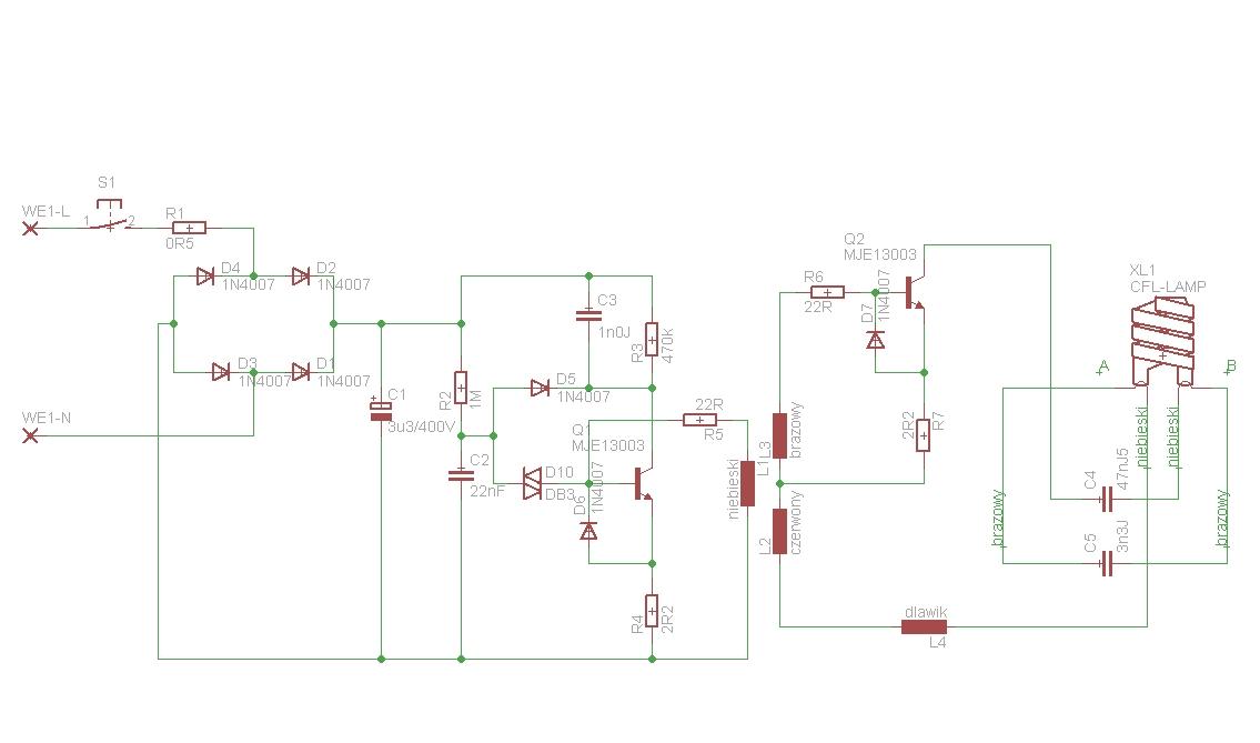 lampa meblowa �wietl�wkowa TL5012/13 elektronika z wn�trza