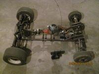 Samochód RC własnej konstrukcji