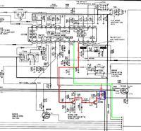 Technics ST-GT550 (650) - Usunięcie usterki z migającym stereo
