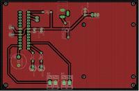 Rozmieszczenie kondensatorów - sprawdzenie płytki.