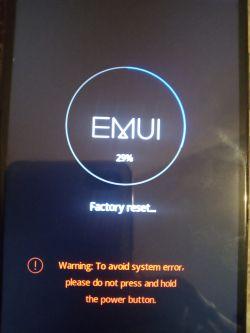 Huawei P Smart i uszkodzony android