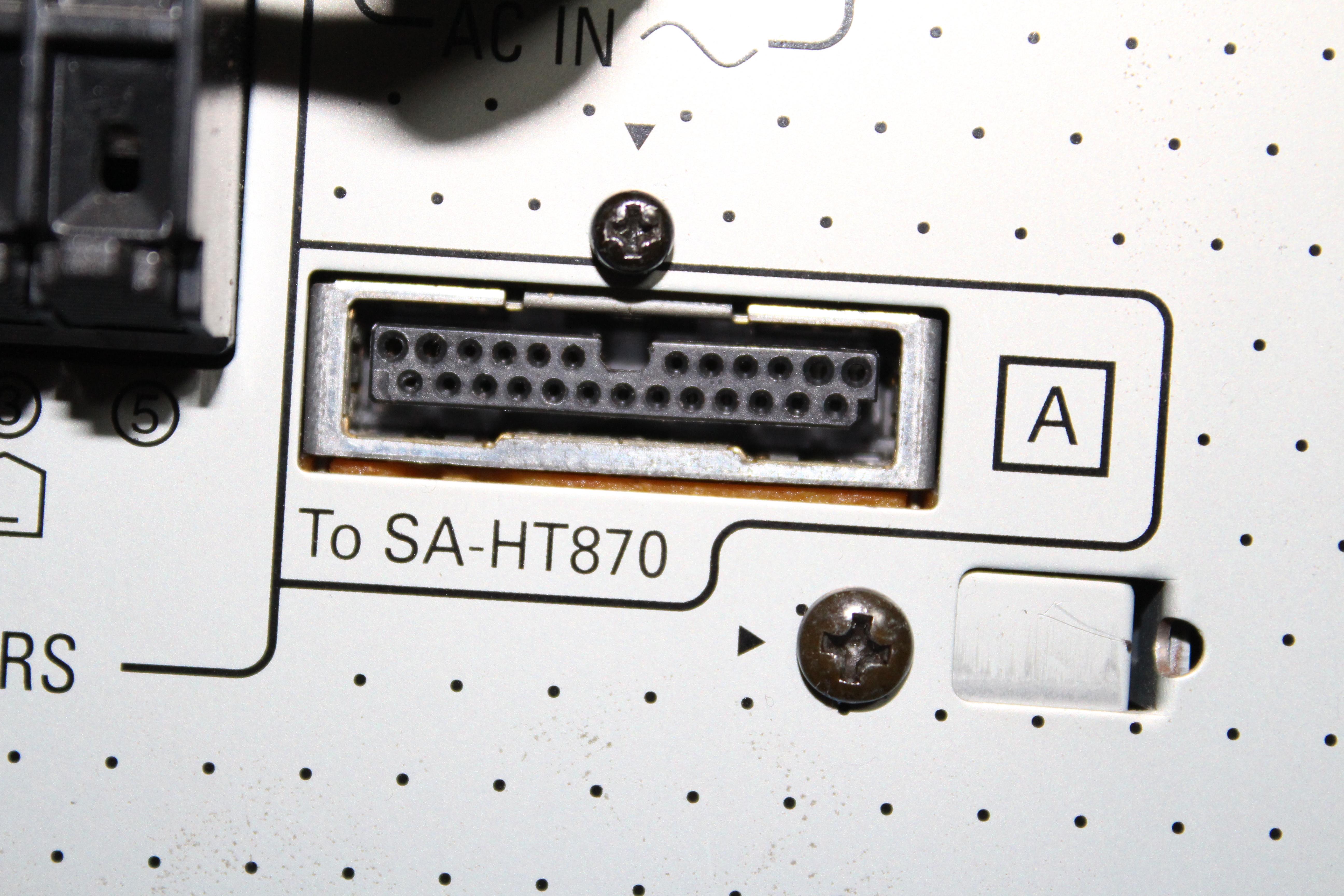 Jak pod��czy� amplituner ferguson 660 do subwoofera sb wa 870