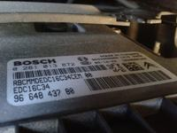Citroen C3 2009r. 1.6HDi - Schemat sterowania elektroniką silnika